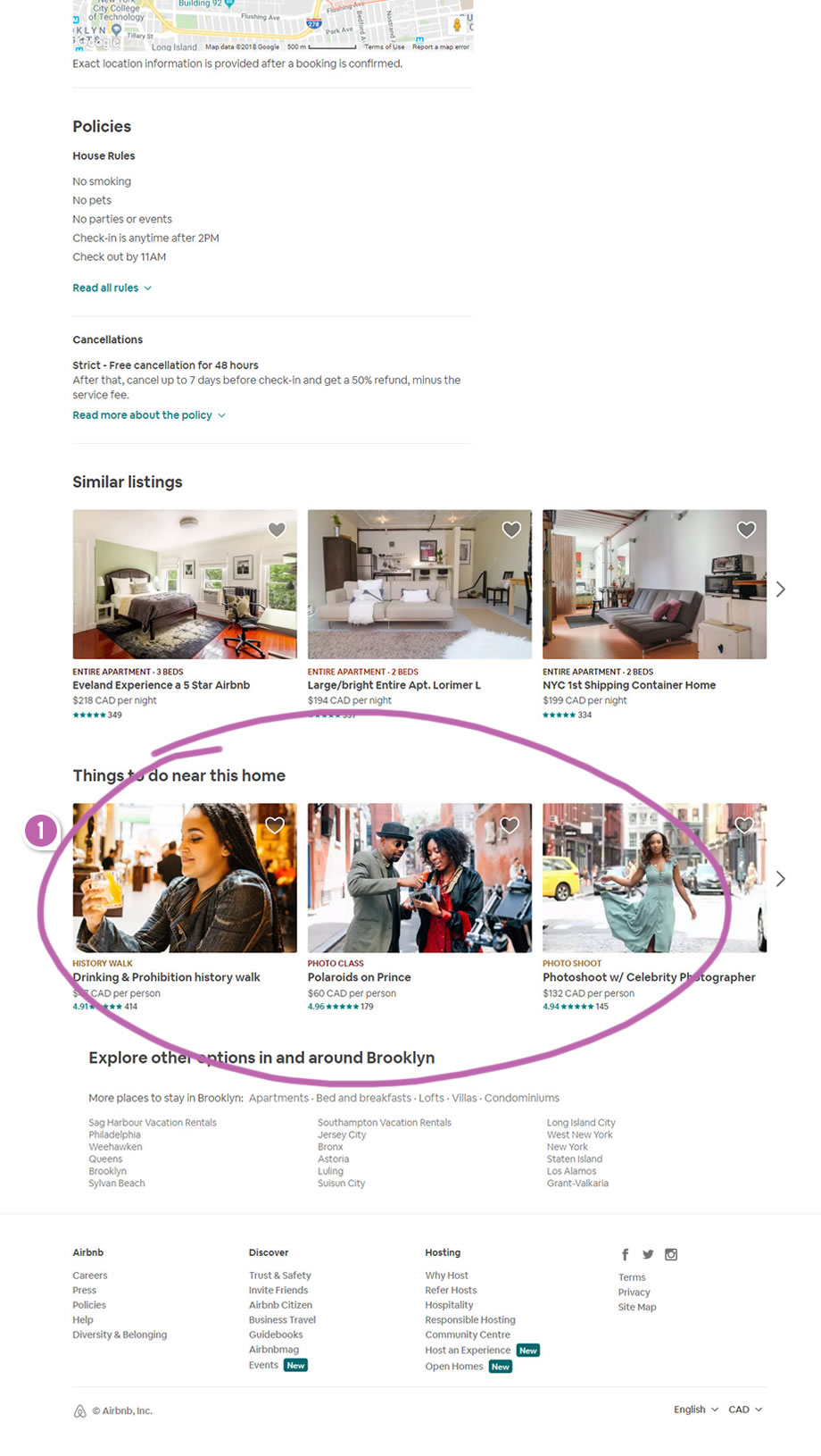 Airbnb Added More Search Cues | GoodUI