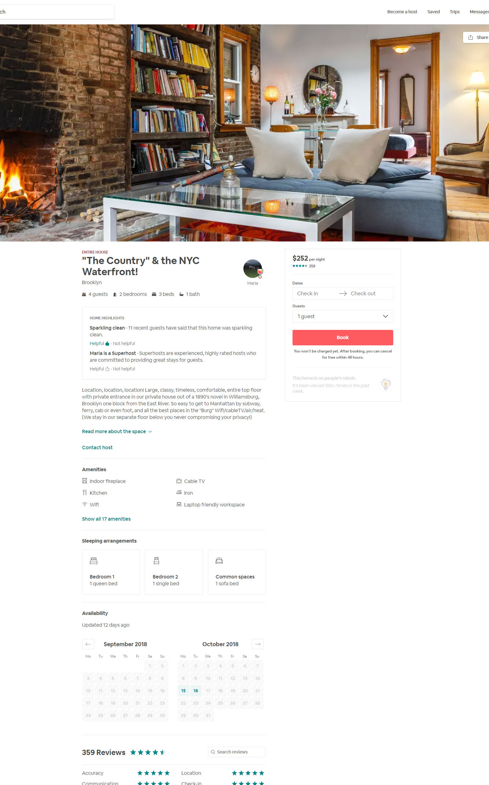 Airbnb Made 3 Changes To Their Property Page | GoodUI