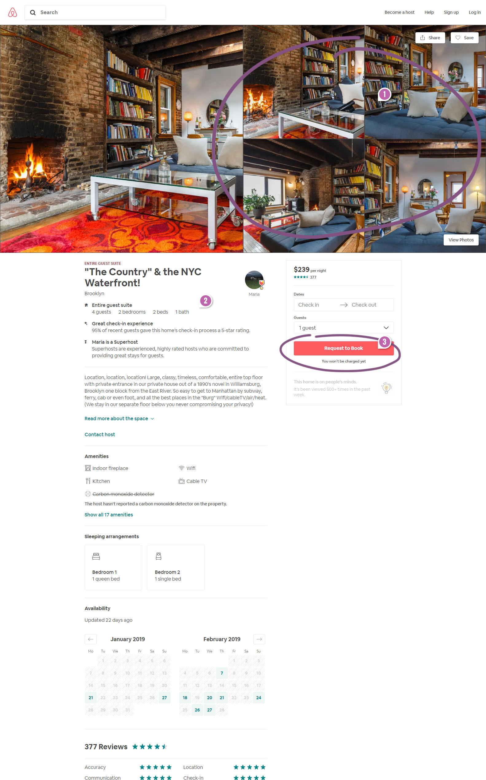 Airbnb Made 3 Changes To Their Property Page   GoodUI