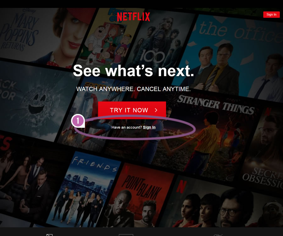Netflix A/B Tests And Rejects Secondary Sign-in And Sign-up Calls ...